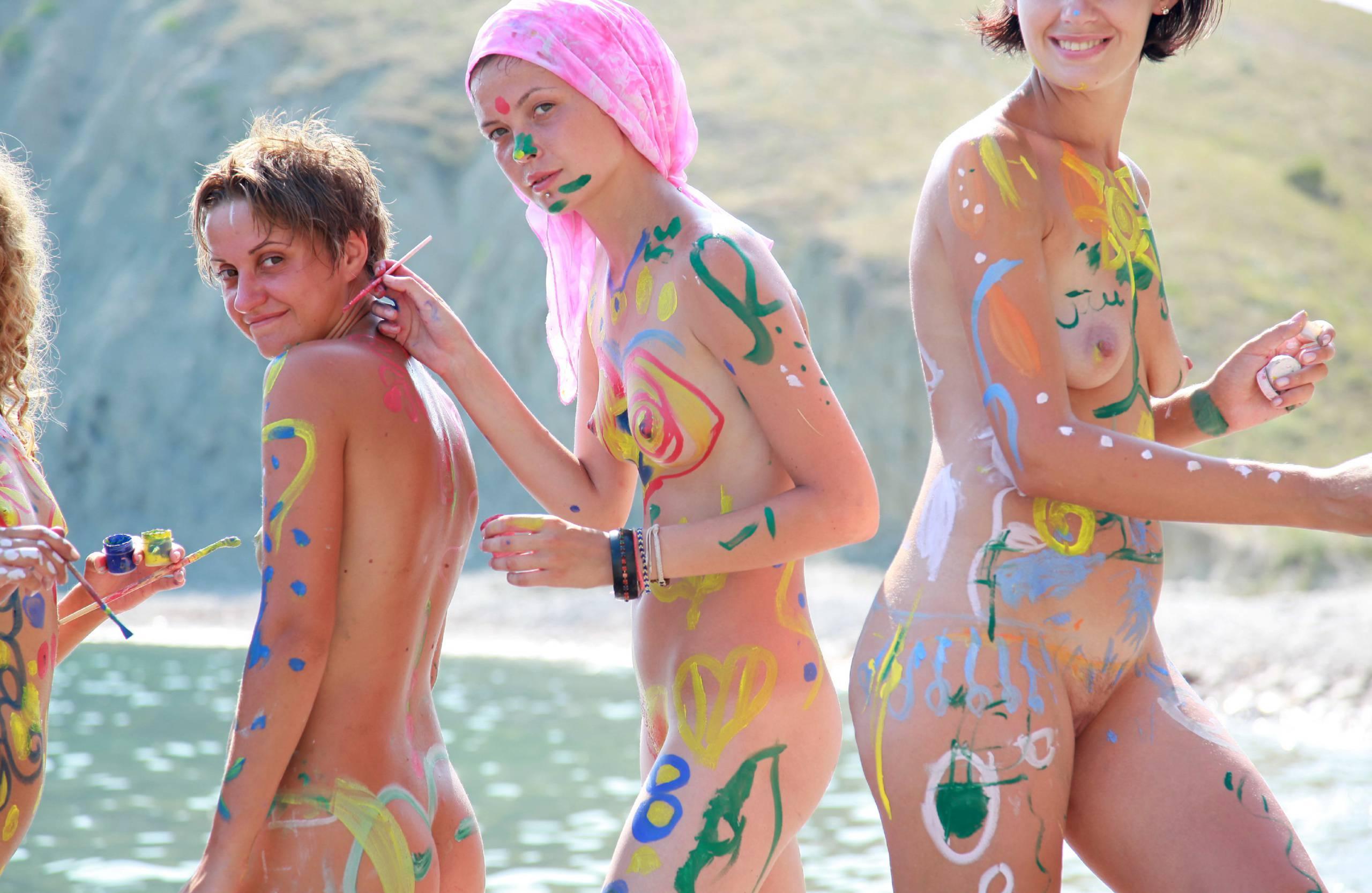 Nudist Pics A Mediterranean Crag - 2