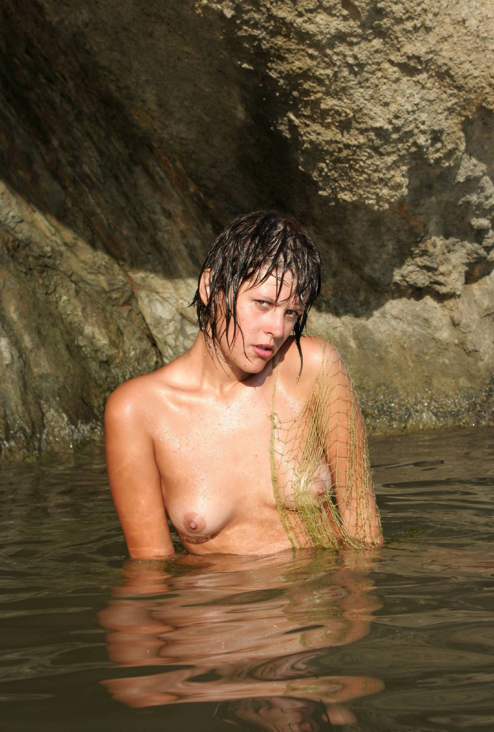 Nudist Pictures Against Rocky Backdrops - 2