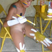 Brazilian Self Body Paints