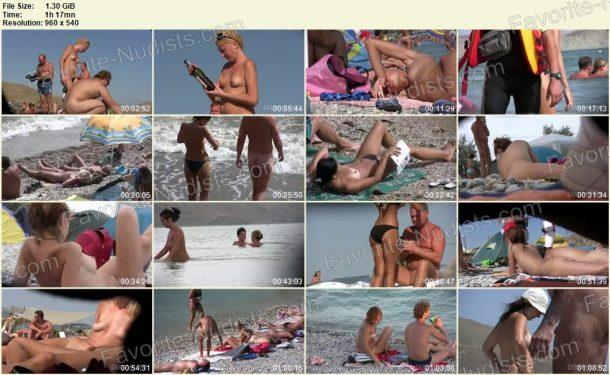 3 Couples On The Beach - frames 1
