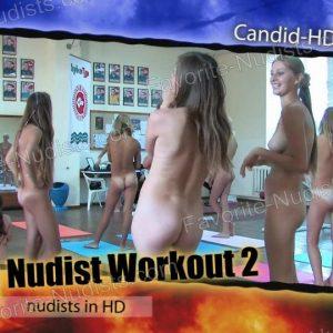Teen Nudist Workout 2