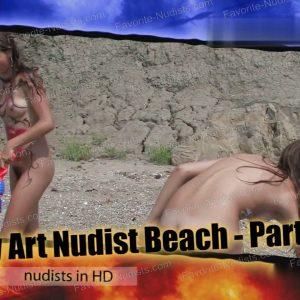 Body Art Nudist Beach - Part 2