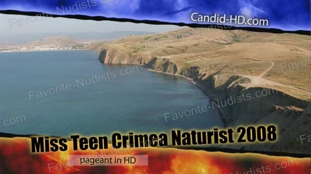 Miss Teen Crimea Naturist 2008 - video still