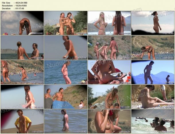 Candid Family Nudism Part 1 - film stills 1