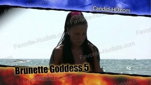 Brunette Goddess 5 - frame