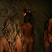 Cavewall Night Family Shot
