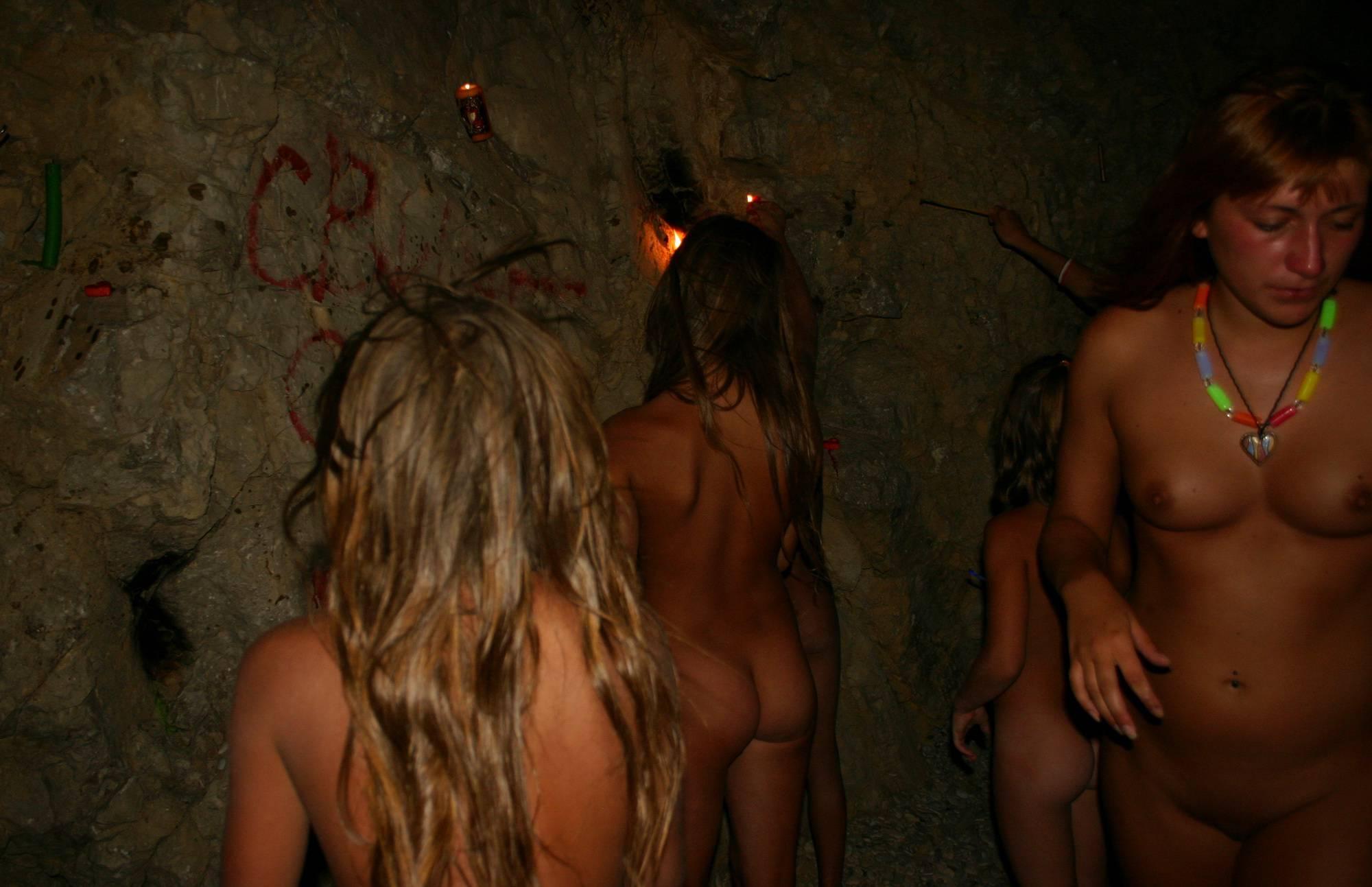 Nudist Photos Cavewall Night Family Shot - 1