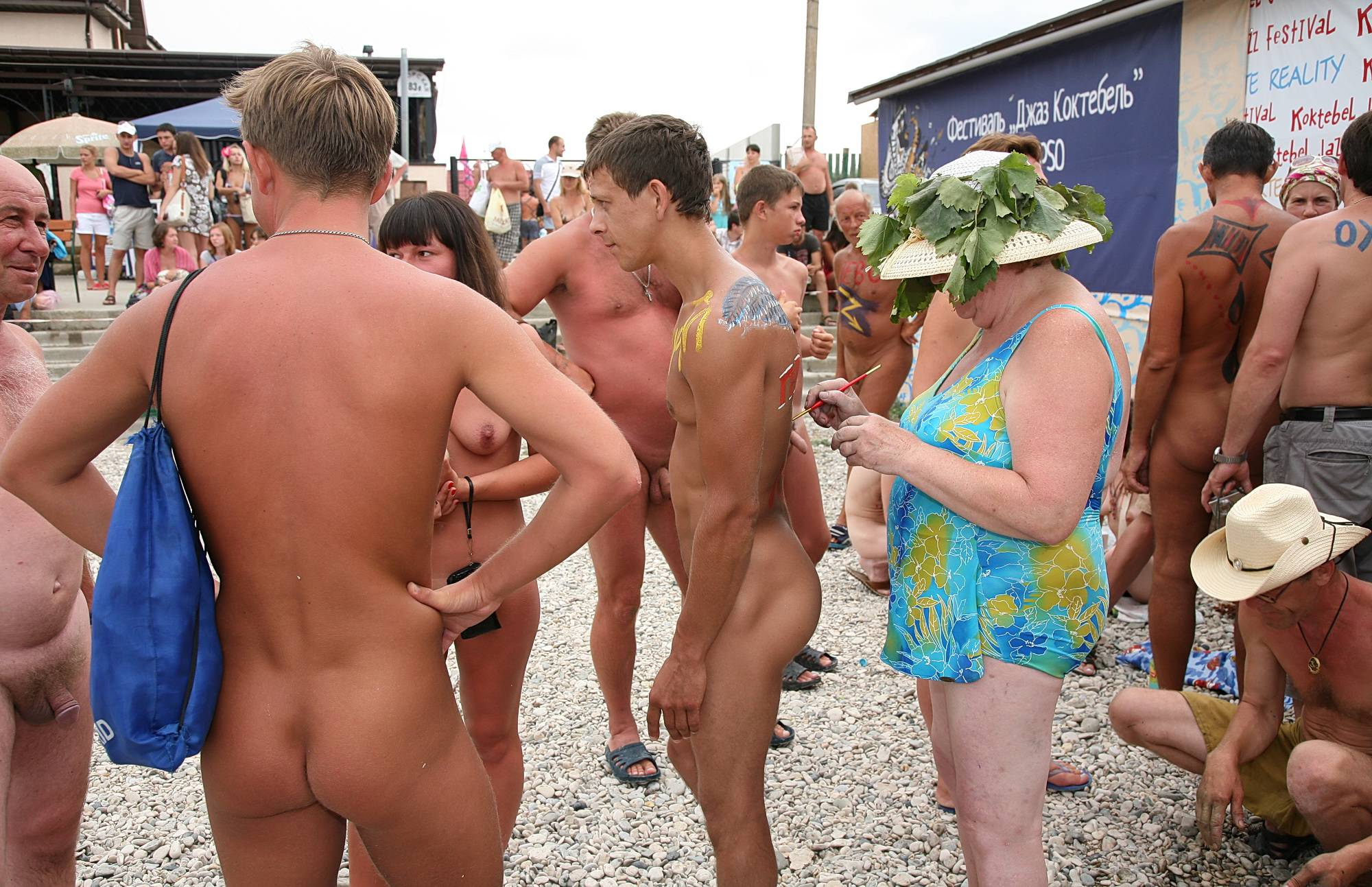 Nudist Gallery Contests On The Beach - 2