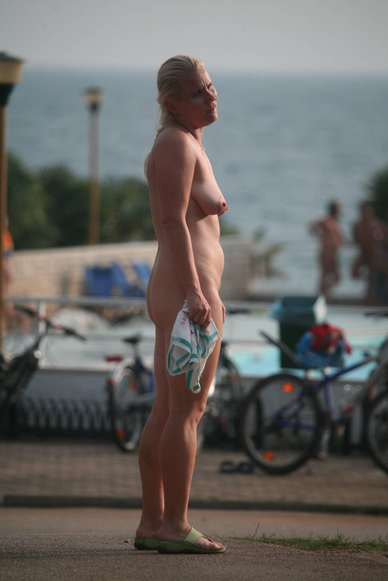 Nudist Pictures Crete Poolside Observers - 1