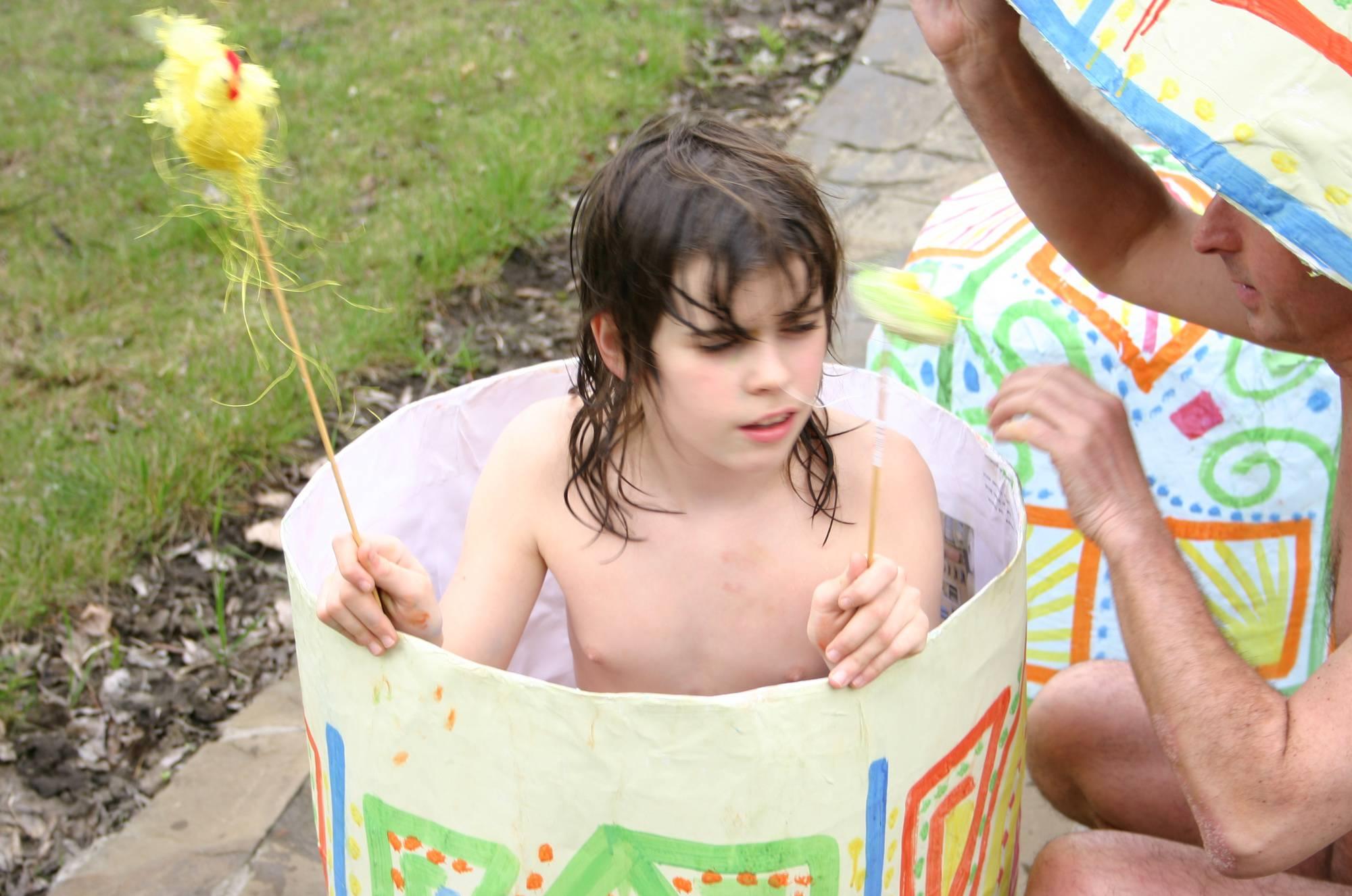 Nudist Photos Easter 2X Eggs Outdoors - 2