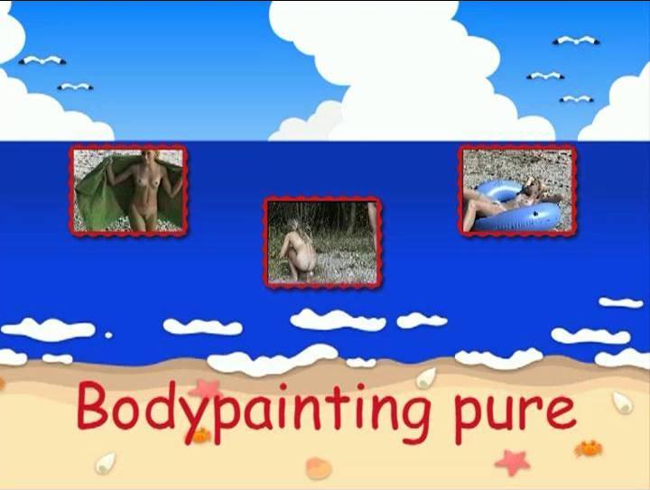 FKK Videos Bodypainting pure - Poster