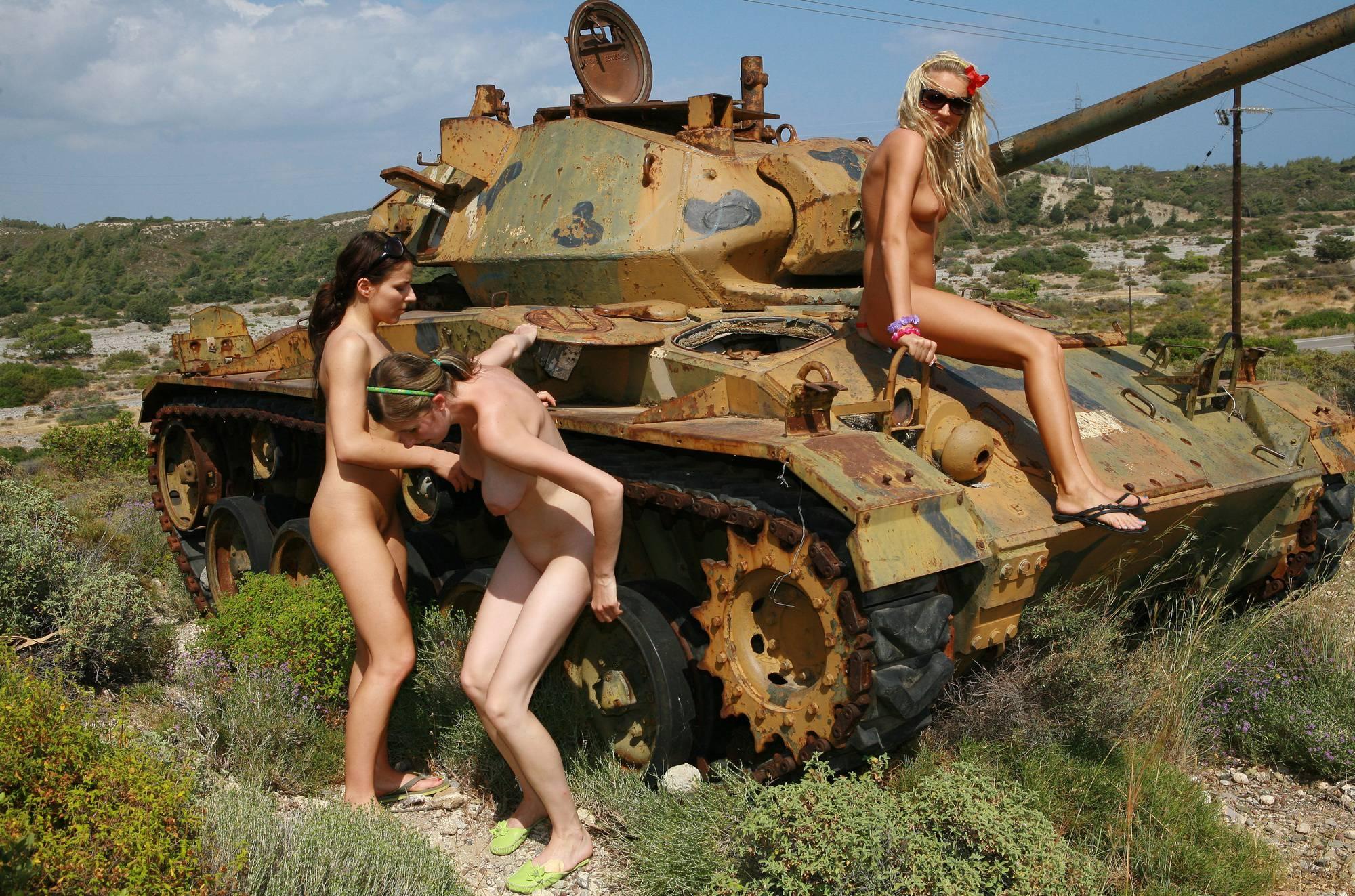 Nudist Gallery Greek Military Tank Gals - 2