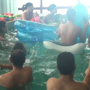 Indoor Swim Exercise