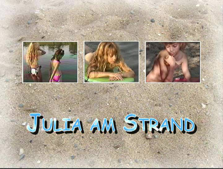 FKK Videos Julia am Strand - Poster