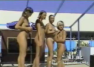 Nudist-HDV Junior Miss Pageant 1999 series Vol.3 - 2