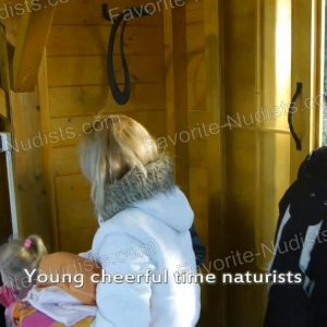 Young Cheerful Time Naturists