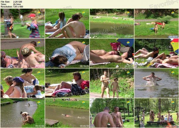 Bathing in a Bahnak film stills 1