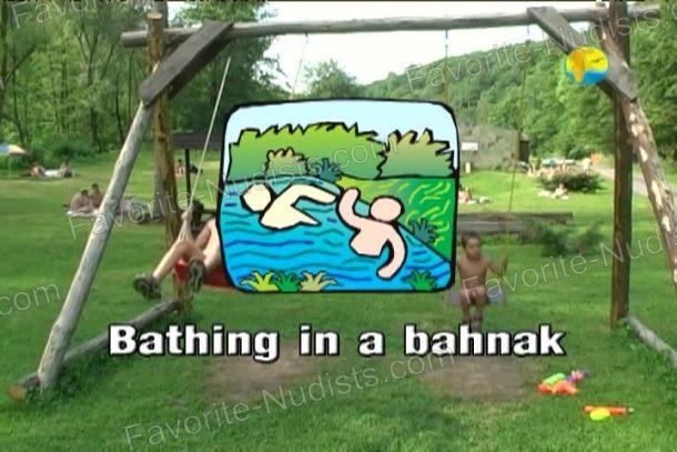 Bathing in a Bahnak snapshot