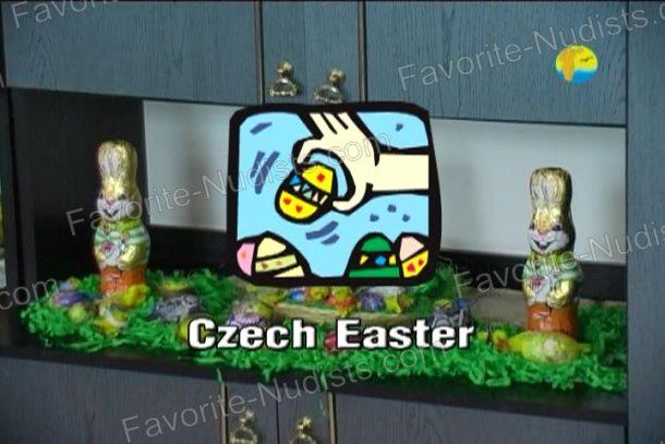 Czech Easter shot
