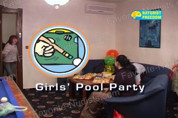 Girls' Pool Party cover