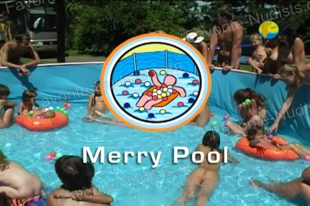 Shot of Merry Pool
