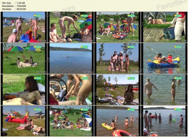 Bathing at Gravel-Pit - thumbnails 1
