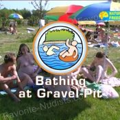 Bathing at Gravel-Pit