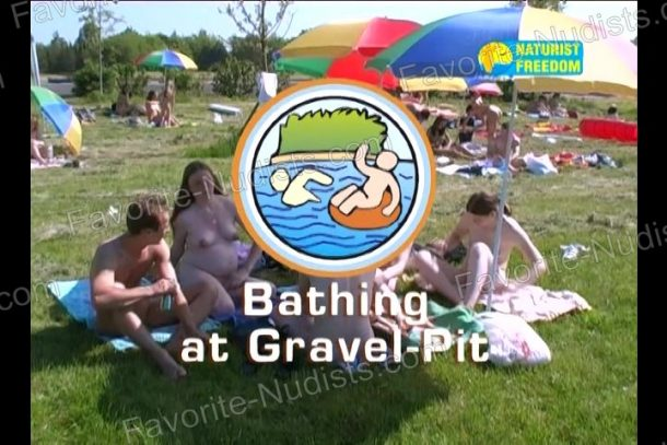 Bathing at Gravel-Pit cover