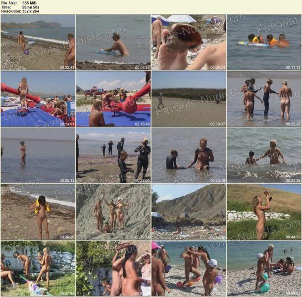 Fun In The Crimean Sun - frames 1