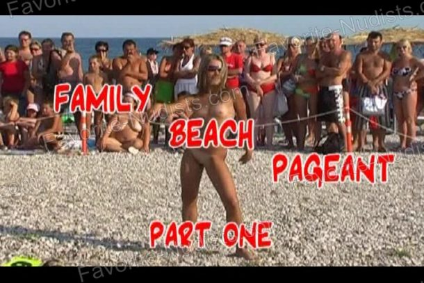 Video still of Family Beach Pageant Part One