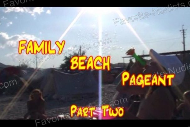 Snapshot of Family Beach Pageant Part Two