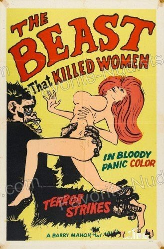The Beast That Killed Women 1965 video still