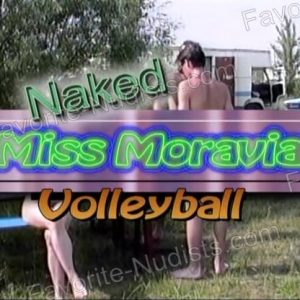 Naked Miss Moravia Volleyball