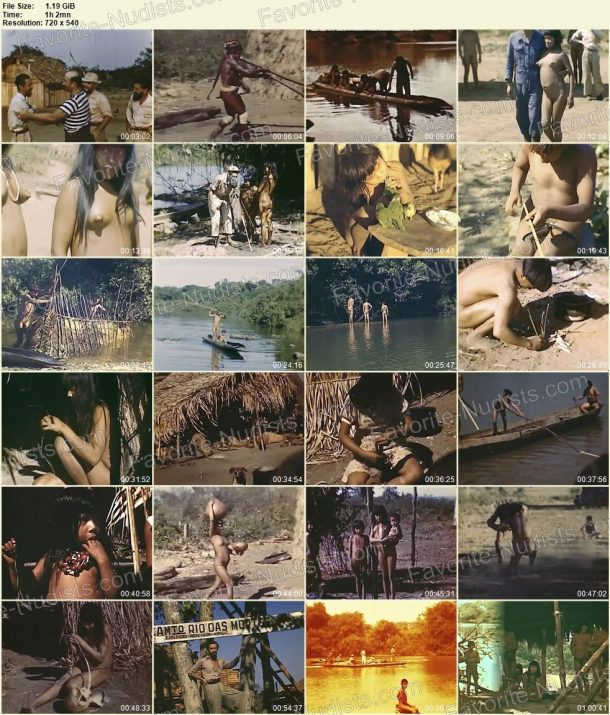 Xingu indians - Expedition to rainforests of Brazil in 1948 thumbnails 1