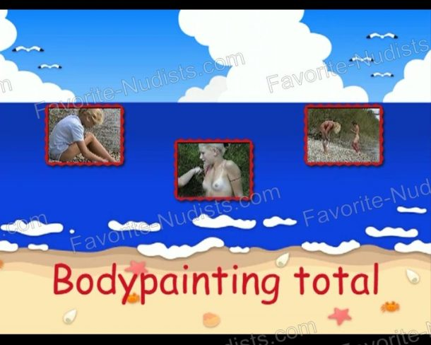 Screenshot of Bodypainting total