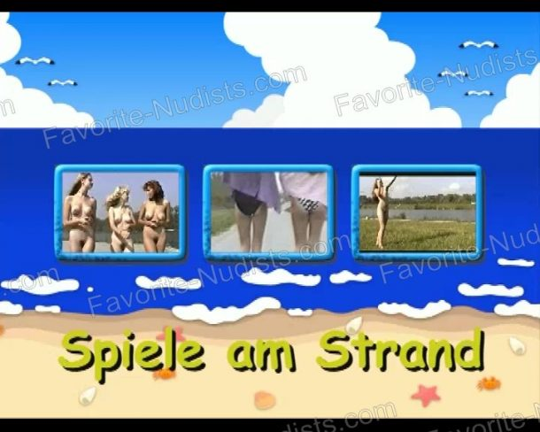 Spiele am Strand cover