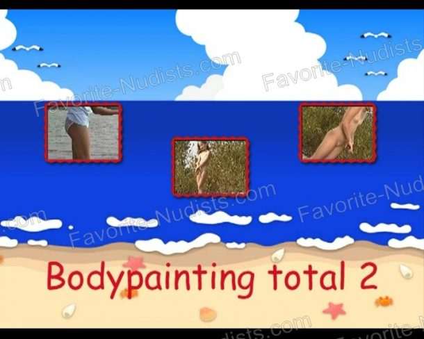 Cover Bodypainting total 2