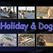 Holiday and Dog
