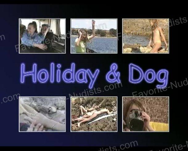 Snapshot of Holiday and Dog