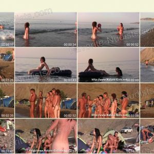 Young Naturists on a Nudist Beach - Nature-Girls.net