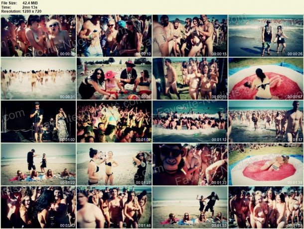 Skinny Dip - Guinness World Record 2013 HD - frames 1