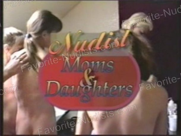 Video still Nudist Moms and Daughters