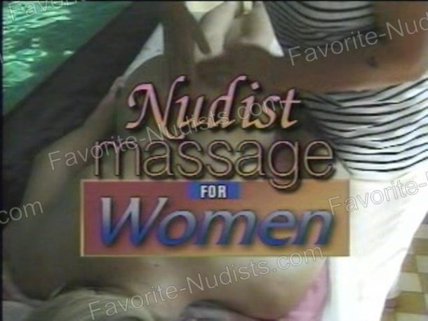 Video still of Nudist Massage for Women