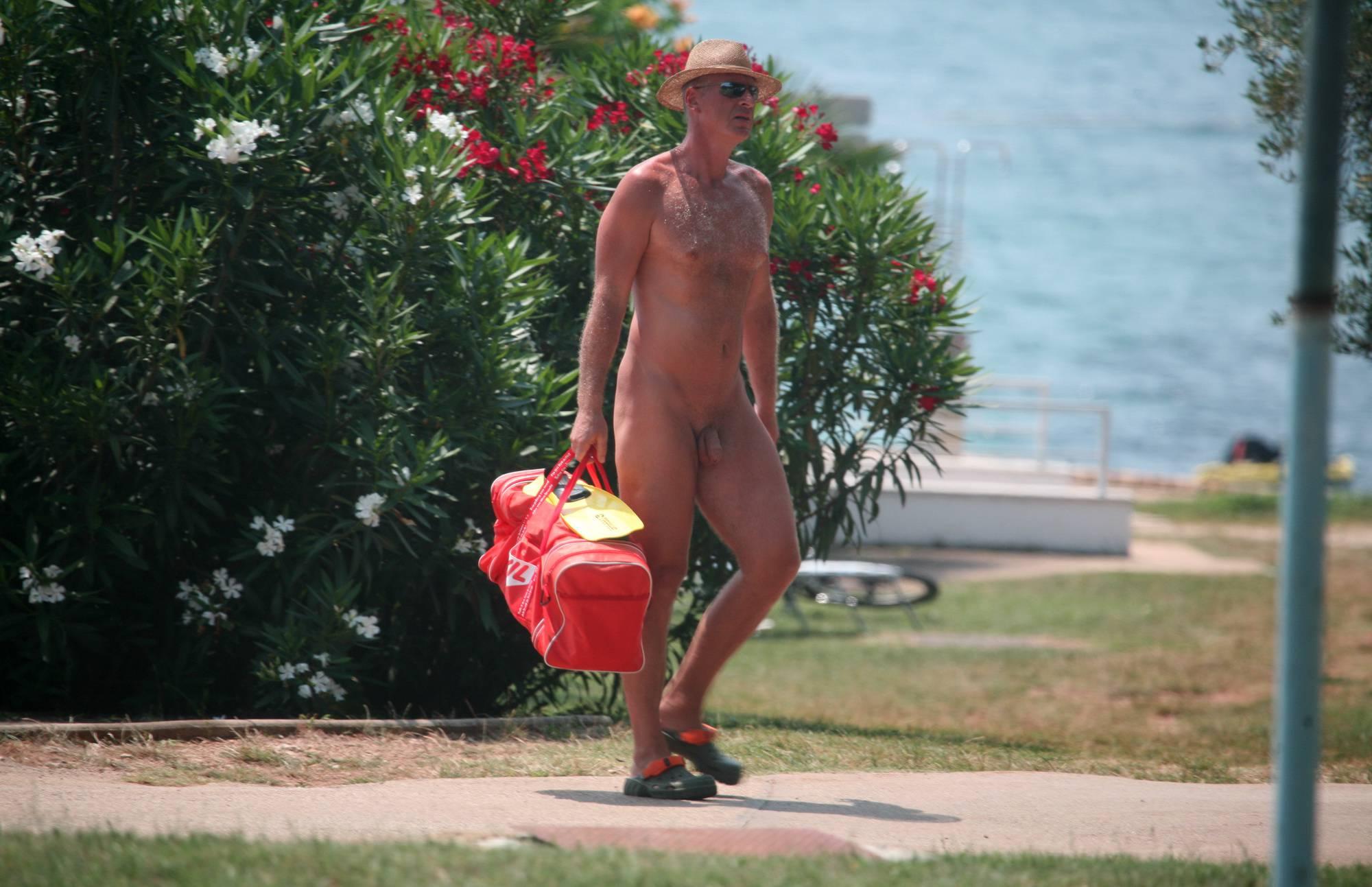 Nudist Photos Naturist Pool Walkaround - 2