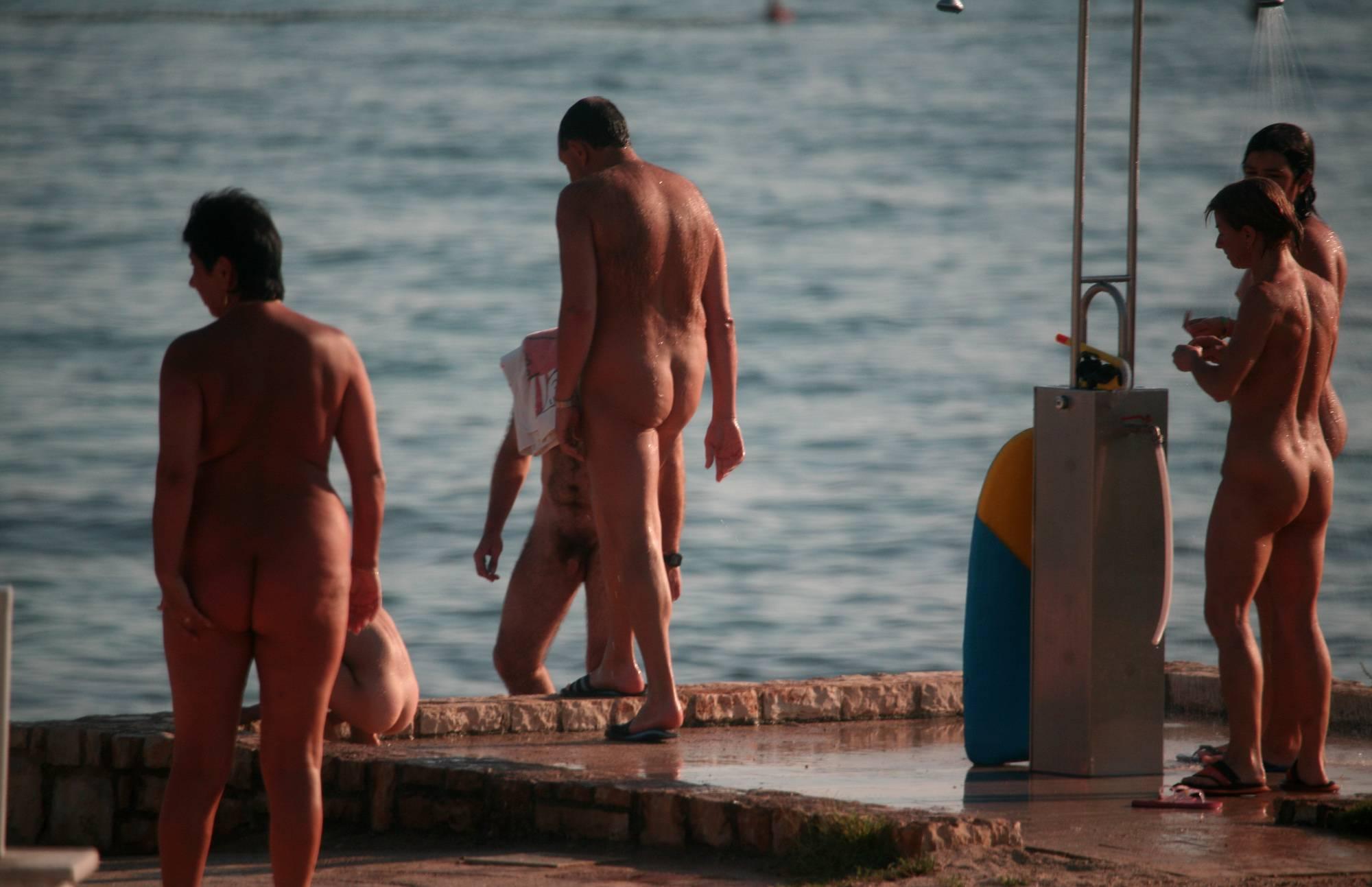 Nudist Photos Naturist Shower Series - 2
