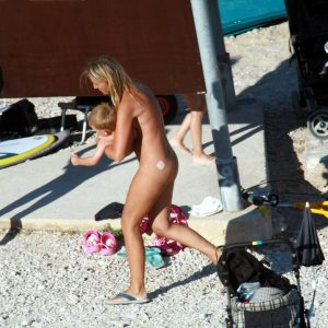 Nude Beach Resting Board