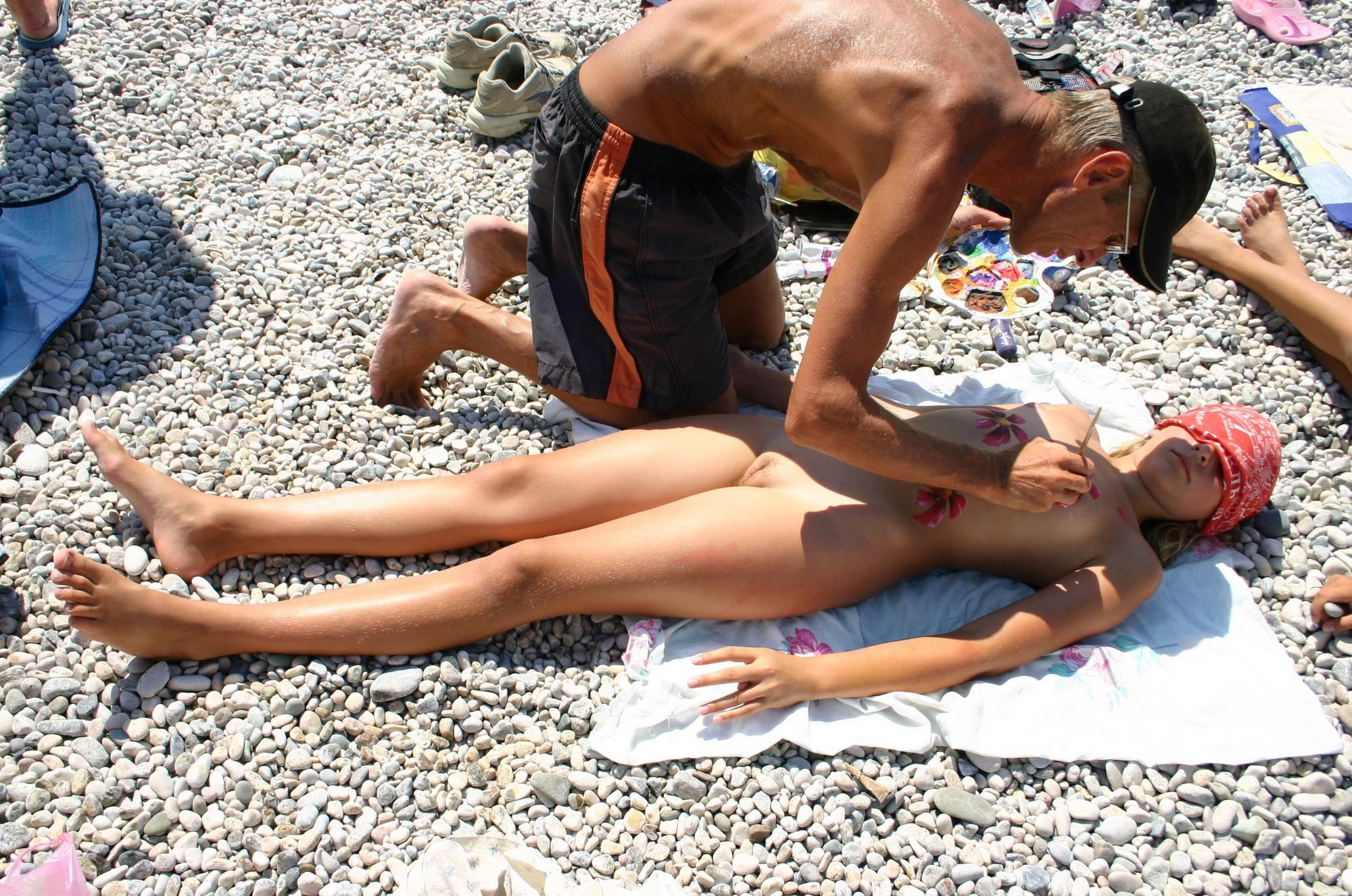 Nudist Gallery Nude Body Painting Prep - 2