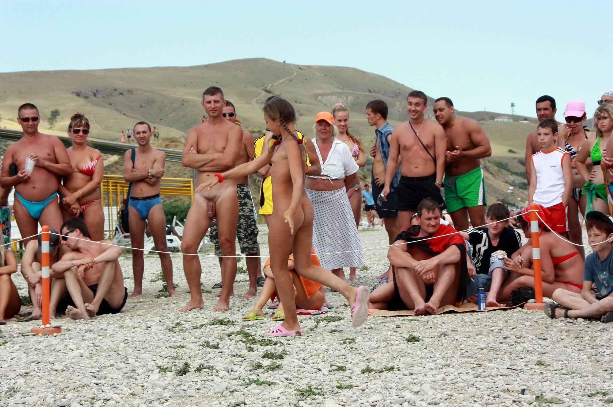 Nudist Photos Nudist Braid Beach Stride - 2