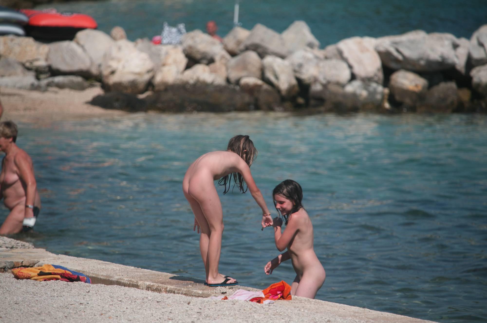 Nudist Gallery Nudist Duel Skinny Dipping - 2