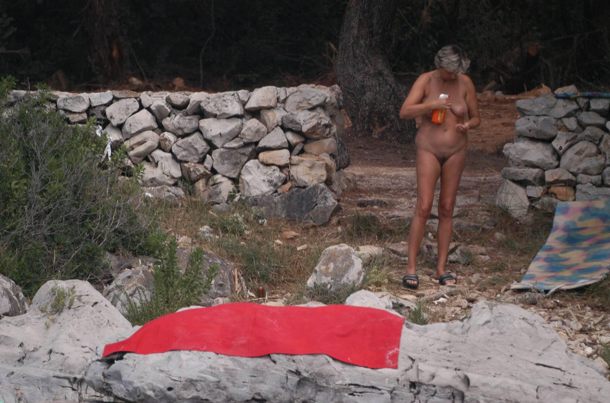 Nudist Pics Croatian Rock-Front Coast - 1